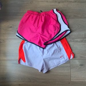 2 Pairs of Nike Workout Shorts